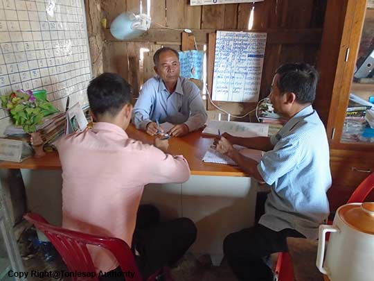 Activities of the Study on the Awareness of the Regulations of the Natural Resources Protection in Kampong Thom Province