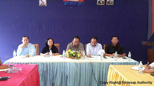 H.E Khov Meas, Deputy Secretary General, Attended the Annual reunion Meeting 2015 in Banteay Meanchey