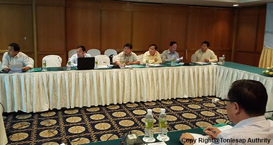 Participation in the Consultation Meeting on the Preparation on the Creation of the Monitoring System and Forecasting Drought in the Lower Mekong Basin