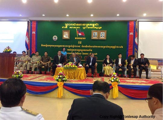 H.E Khov Meas to Attend the Meeting on Evaluated Annually Report 2015 of Banteay Meanchey Province