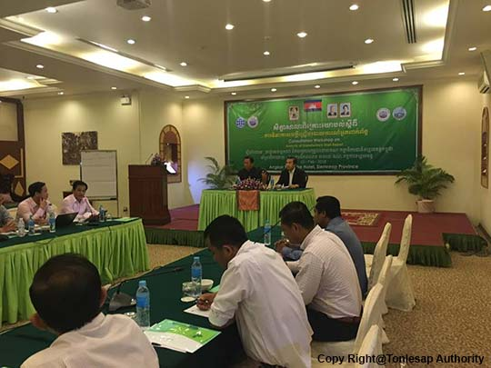 Consultation Workshop on the Draft Report of Stakeholder Analysis for the Project Management on Tonle Sap Lake