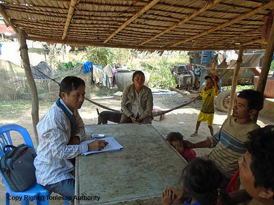 Activities of a Research Study on the Conflict of Interest of Natural Resources in Kompong Chhnang
