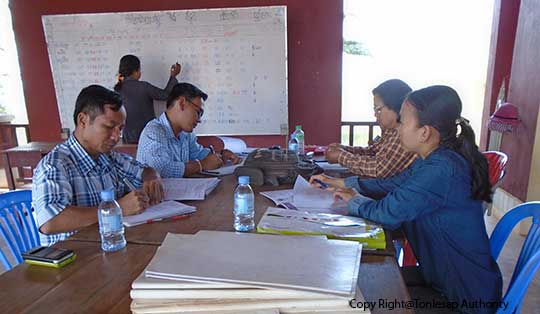Research Activities on the Conflict of Interests on Natural Resource Consumption of Pursat Province