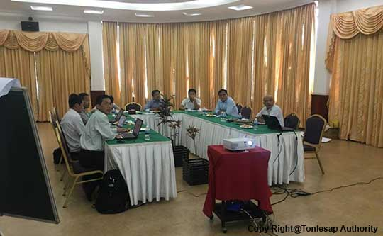 Excellency Hell Tony to Attend the Meeting to Prepare the Project Proposal on Climate Change and Water Resources Governance in Cambodia