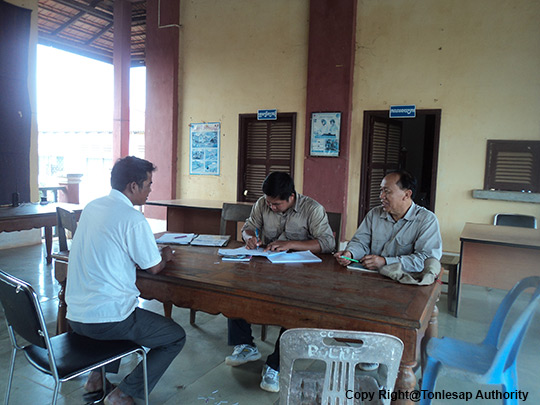 The Data Collection on Dry Farming Land,  Dry rice Yield, and Its Market in Pursat Province