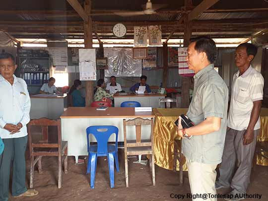 H.E Khov Meas to study about the People's Living in Banteay Meanchey Province