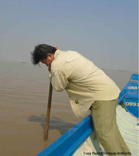Research Activities on the Status of the Thickness/Sediment in Siem Reap Province