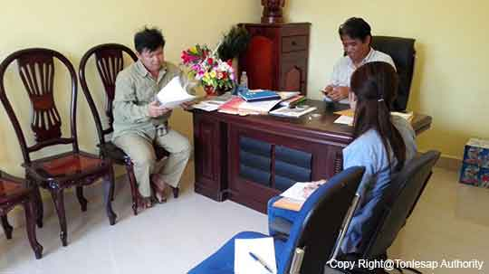 Research Study Activities on Data of Water Sources and Irrigation Capabilities in Kampong Chhnang Province