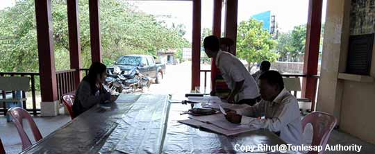 Research Study Activities on Data of Water Sources and Irrigation Capabilities in Pursat Province