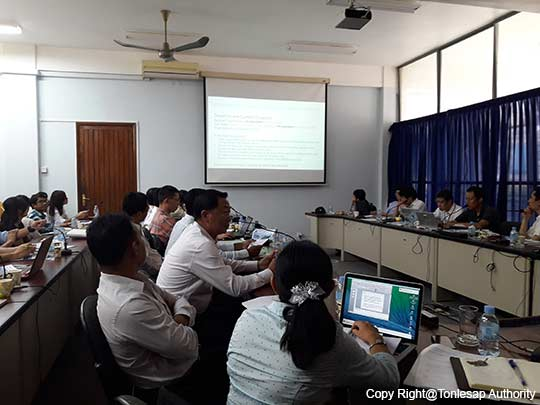The Meeting on the Project's Process on Tonle Sap Lake Environmental Forum