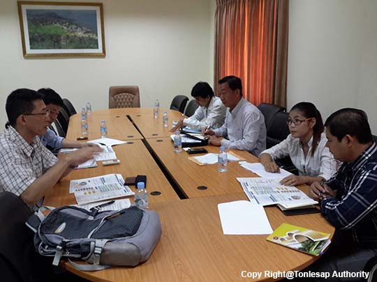 The Technical Working Group Meeting on the Process of Tonle Sap Environmental Forum Implementing