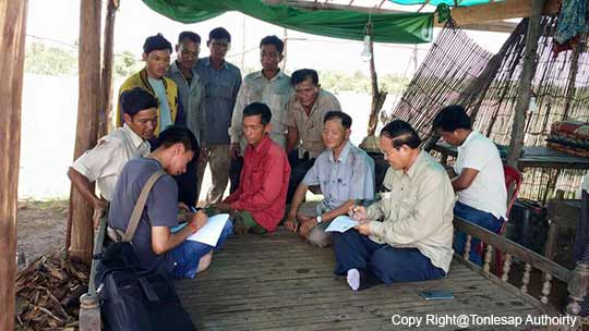 Activities of Research and Update the Inventory of the Fishery Conservation lot