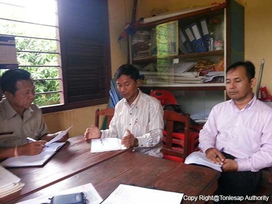 Activities to study, understand, and compile the information about the conflicts of the division of natural resource benefits in main areas in Banteay Meanchey Province