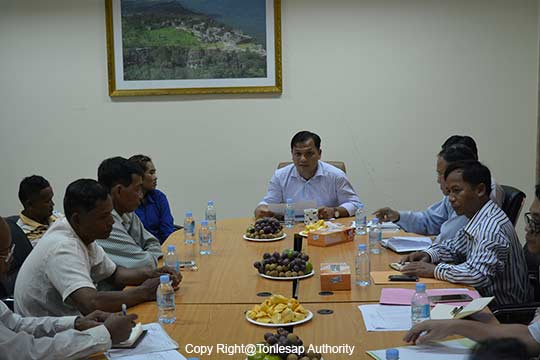 The Meeting to Strengthen Tonle Sap Authority's Agencies