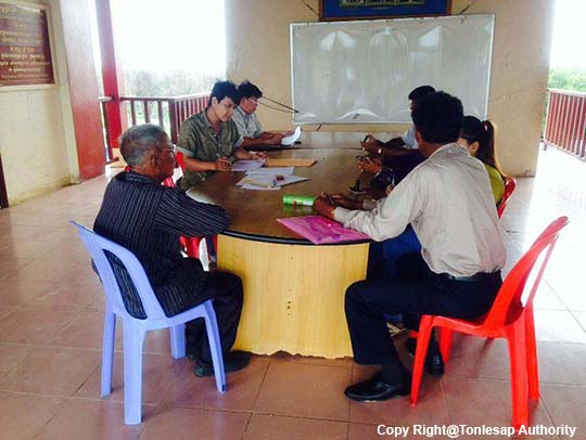 Research Activities on Water Quality and Impact in Kampong Chhnang and Pusat Province